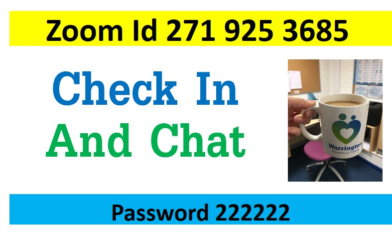 check in and chat with zoom details